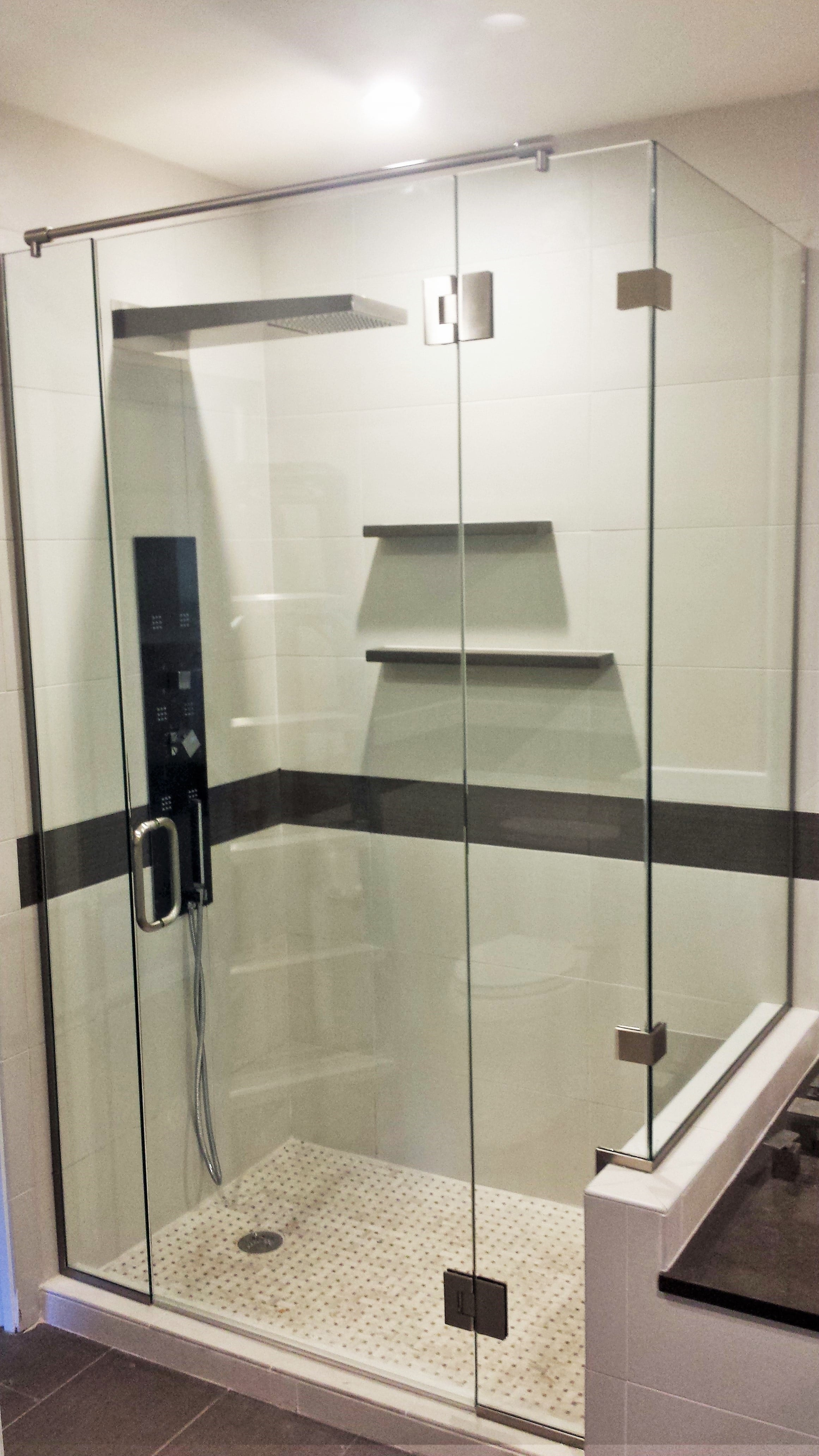 Residential glass services - shower enclosure